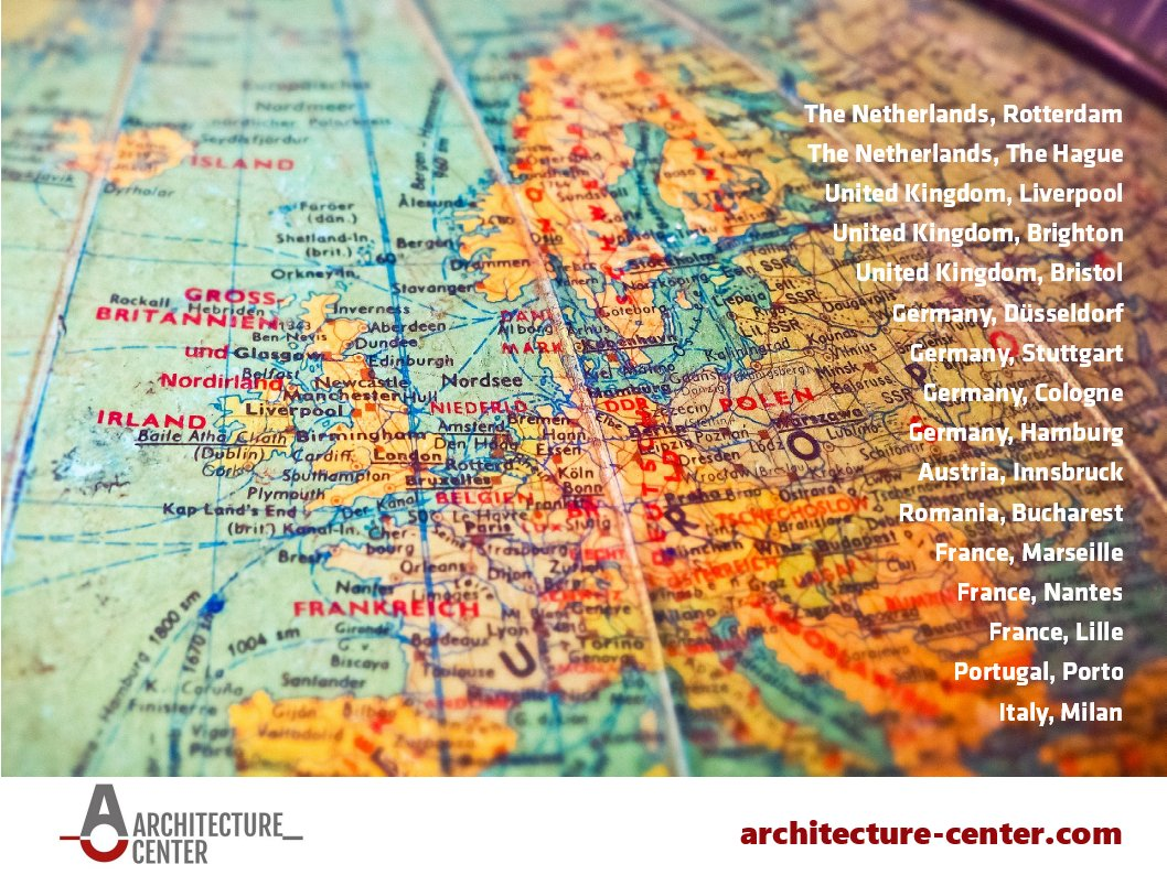 Architecture Center Ltd World Map - TOGAF® 9, ArchiMate® 3.0, IT4IT™
