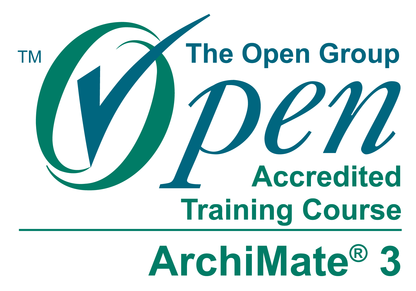 ArchiMate® 3.0 training is accredited by The Open Group®.